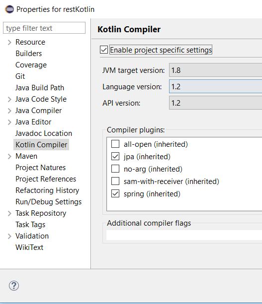 Aplicacion CRUD con REST en Kotlin y SpringBoot
